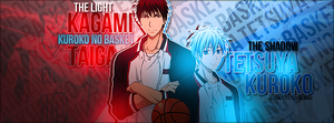 Kagami and Kuroko cover by zFlashyStyle