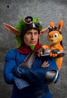 Jak and Daxter at Fanime by seifer-sama