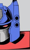 comic Optimus by Kritzkreig