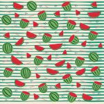 Fresh Watermelon Pattern by Ma-lika