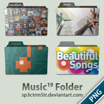 Music Folder 19 PNG by sp3ctrm5tr