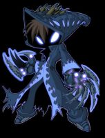 grim jr. in blue edit by roze315