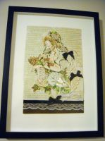 Clover Song Framed by Lilianthus