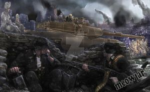 Second Battle of Tyrus by meowjar