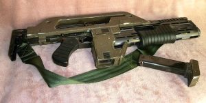 Aliens M41-A Pulse Rifle 2 by loboscuro