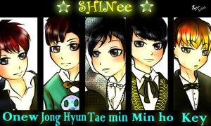 SHINee by AmieeSha96