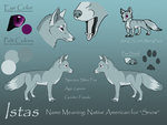 Istas Reference by nightofthewolves