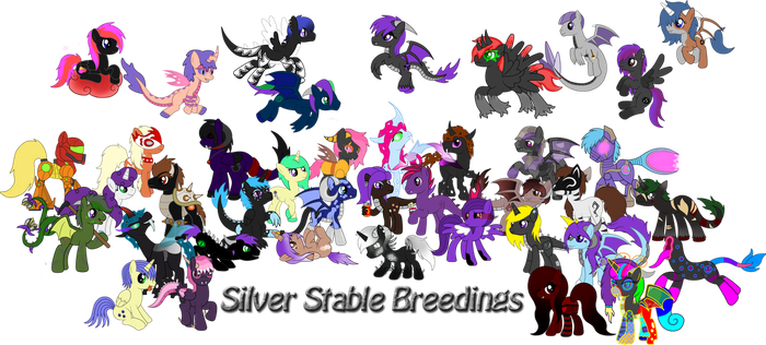 *CLOSED* ~Silver Stable Breedings~ by SilverRomance