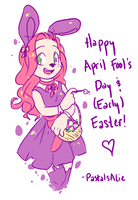 happy easter and whatnot! by ace-pyro