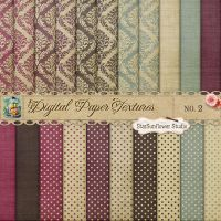 Damask Dots Paper Textures 2 by starsunflowerstudio