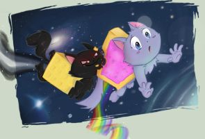 Nyan by babbling-parrot