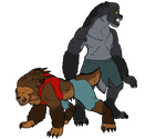 Boy Who Cried Werewolf: Jordan and Hunter by Falljoydelux
