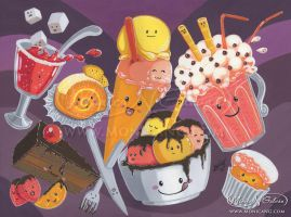 Postres y dulces by Monica-NG