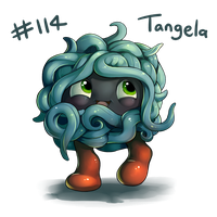 114 - Tangela by oddsocket
