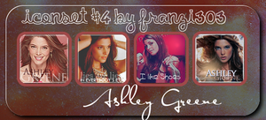 Iconset with Ashley Greene by franzi303