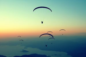 Paragliding by sinademiral