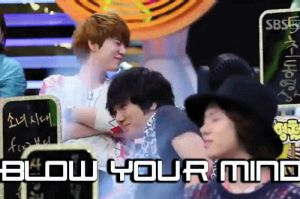 Suju KH, YS,  HC - Blowed Mind! Macro/Gif by JadeRiverJR