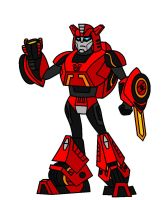 Animated WfC Cliffjumper by AleximusPrime
