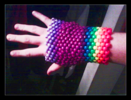 Kandi Glove by ScottieRouge