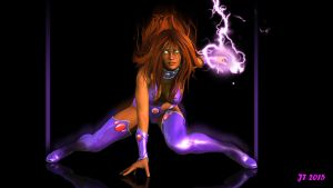 Starfire...Outlaw by tiangtam
