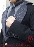 Winged Tailcoat front detail by Oniko-art