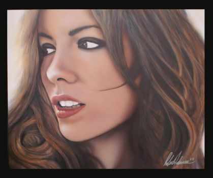 Kate Beckinsale Portrait by dvncarts