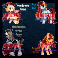 Halloween Ponies Auction (CLOSED 4/4) by hikariviny