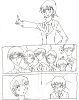 An Ouran comic by TheAstrica