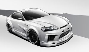 Hyundai Coupe Xkit by wegabond