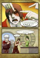 Avatar: Zuko got Faced by DarkKenjie