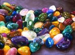 Semi precious stones by veracauwenberghs