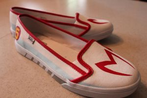 Speed Racer Shoes by pyschogecko