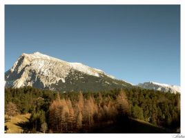 Alps autumn by mutrus