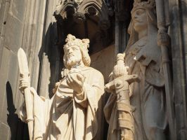 Cologne Cathedral - Detail 23 by tmfNeurodancer