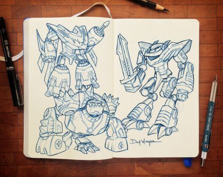 CharacterSketches-04 by WingerDesign