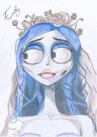 Emily, The corpse Bride by Primadonnagirl