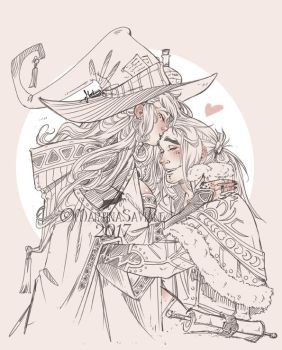 Kiss Witch _ Doodle by MartinaSaviane