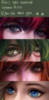 My eyes tutorial by RikaMello