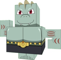 Machoke (Cubeecraft doll) by LDEJRuff