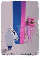 The Pink Panther by D3iv