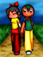 Holding Hands by PokreatiaForms