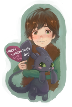 Happy Valentine's Day! by hiraco