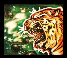 tiger bomb by EatToast