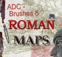 ADC brushes 5 -Roman Maps 1 by 4sundance
