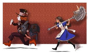 It's the wrong Alice by m2aster