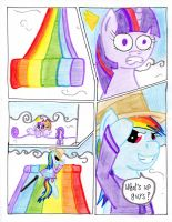 Fluttershy and the Rainbow Factory p. 9 by The1King