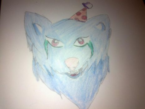 Party Wolf by That-random-girl01