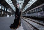 Waiting for the train... (Capucine Henry Serie) by ReaverSkill