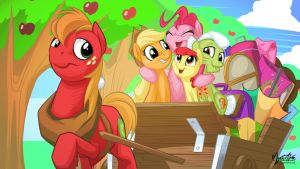 Apple Pie 16:9 by mysticalpha