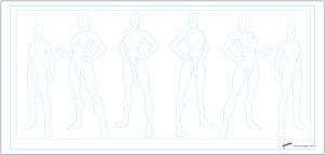 Character Templates 5 Female by stourangeau